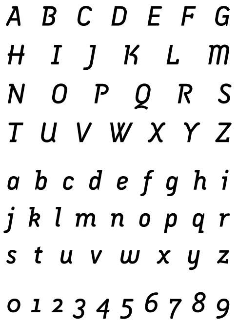 Armature Neue Italic