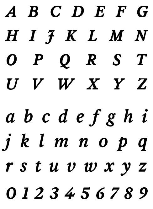 Leyden News Bold Italic