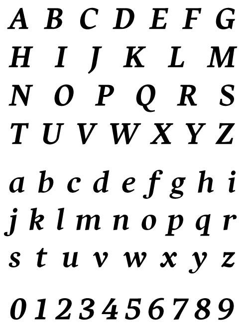 PSY/OPS - Harfang Pro Bold Italic