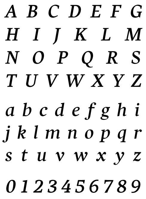 PSY/OPS - Harfang Pro Italic