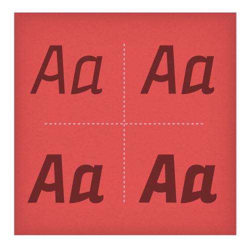 Vidange Pro Italic Subset