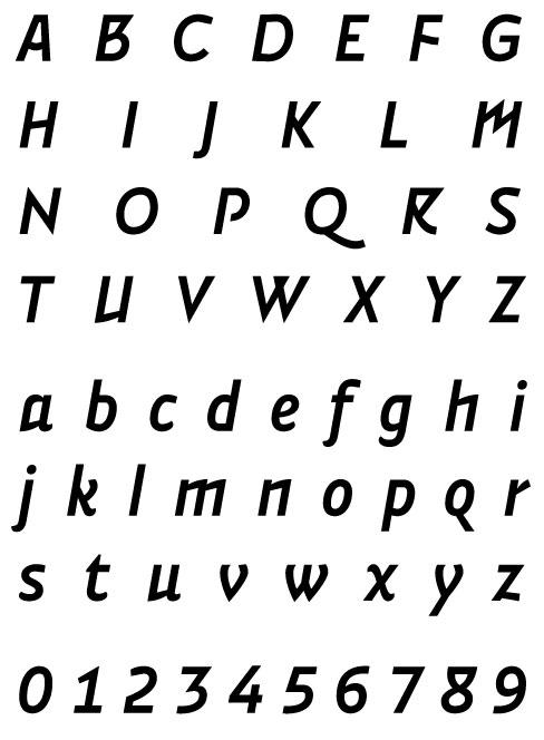 Vidange Pro Semi Bold Italic