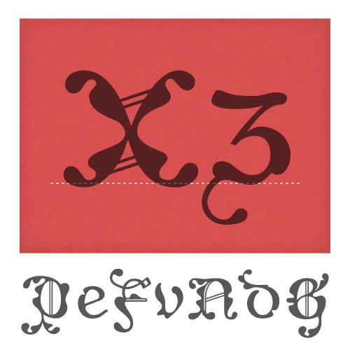 Caligrafia De Bula Typeface