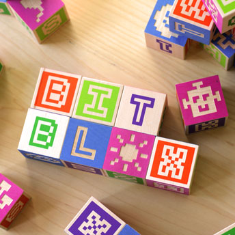 BITBLOX - Alphabet Blocks