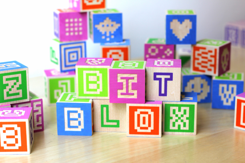 Bitblox Alphabet Blocks