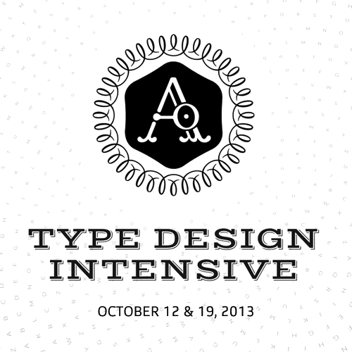 Type Design Workshop