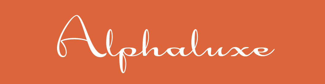 Alphaluxe font, by Wesley Poole.