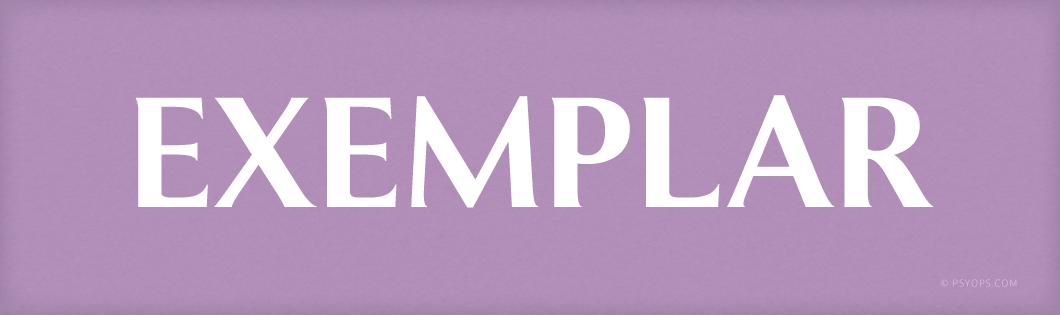 Exemplar Font Header