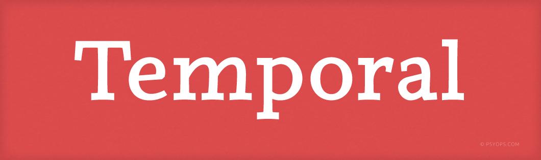 Temporal Font Header