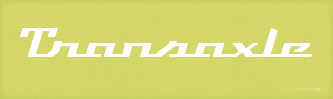 Transaxle Font Header