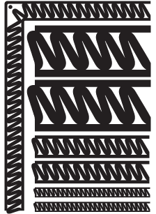 BACKSLANT-ZIG-ZAG-DOUBLE-LINE-black