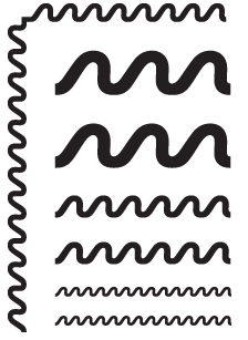 SLANTED-WAVE-black
