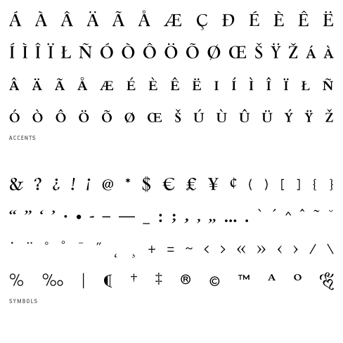 Aalborg Smallcaps Font from the library of PSY/OPS Type Foundry