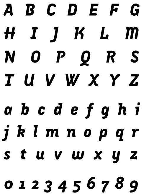 Armature Neue Extra Bold Italic