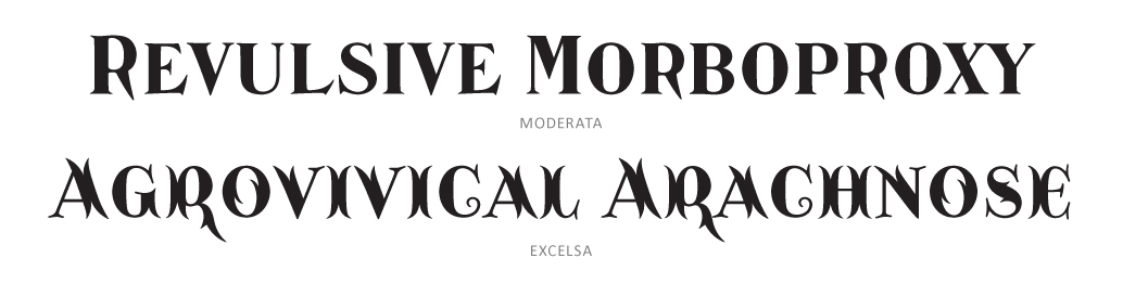 Catacumba Display Subset - PSY/OPS Type Foundry