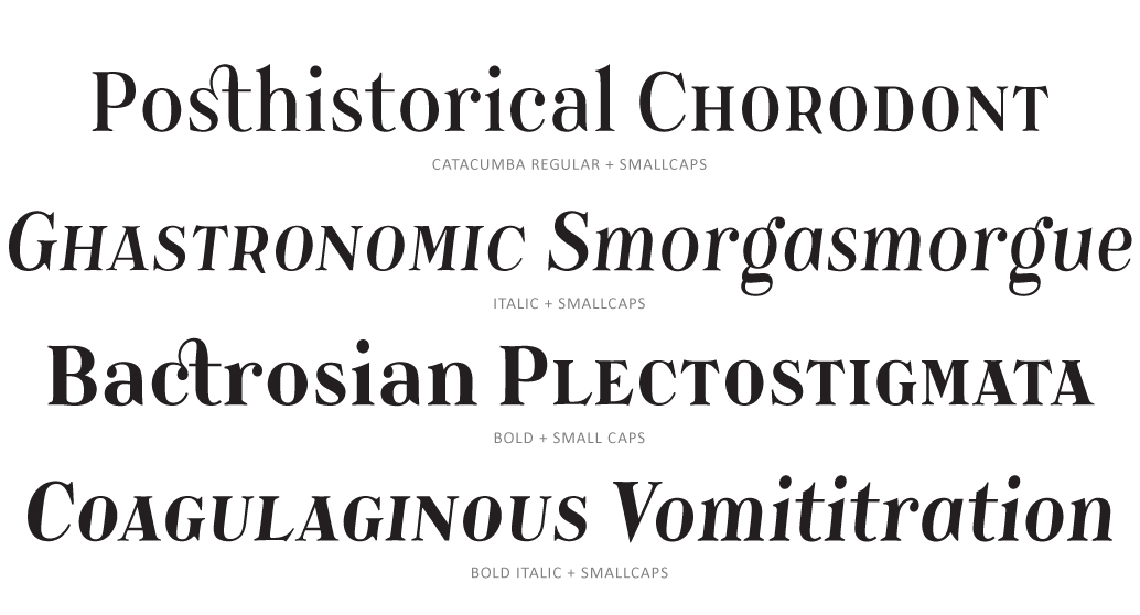 Catacumba Text Subset - PSY/OPS Type Foundry