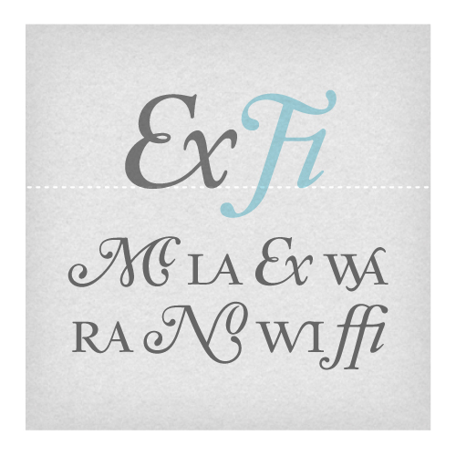 Aquamarine Titling Ligatures