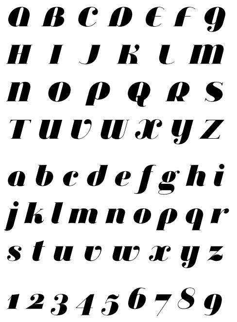 PSYOPS.com Jeanne Moderno Ultra Italic