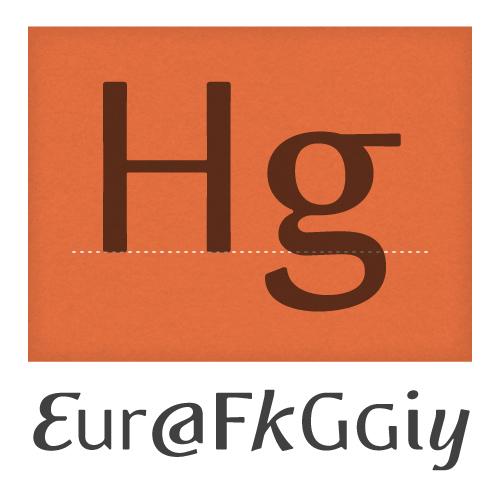 Eidetic Modern Typeface