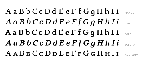 LUMINANCE Complete Font Style Lines