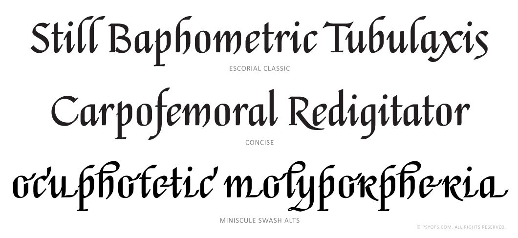 Escorial-Script-Font-Specimen