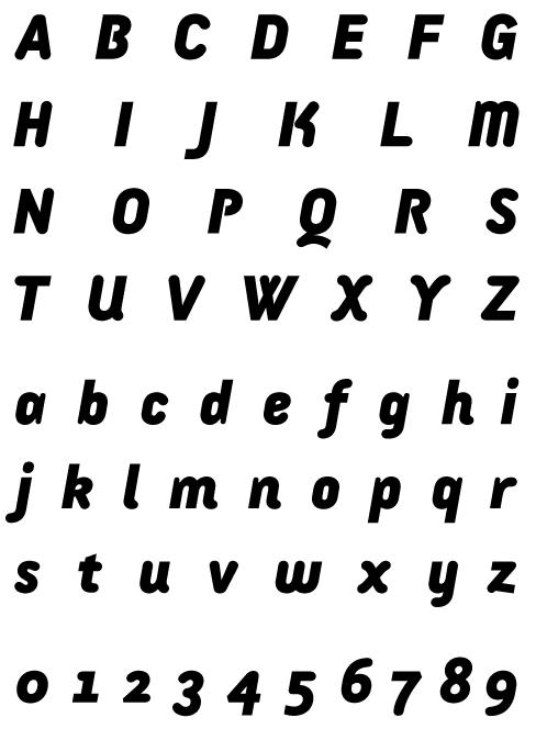 Armature Sans Black Italic