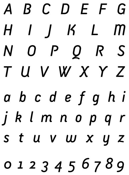 Armature Sans Italic
