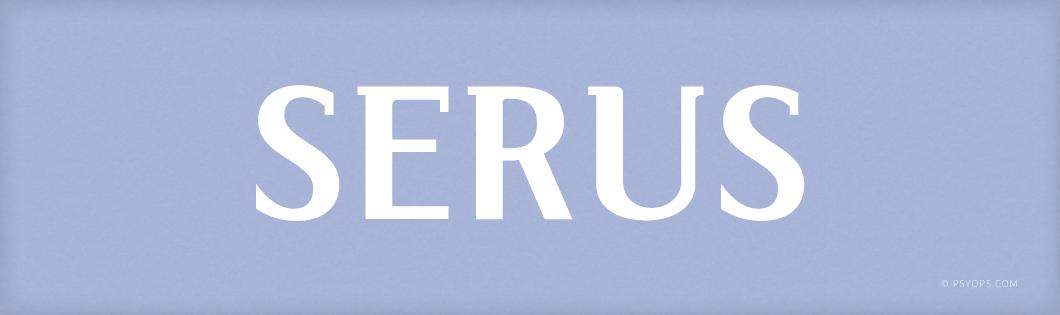 SERUS Font Header