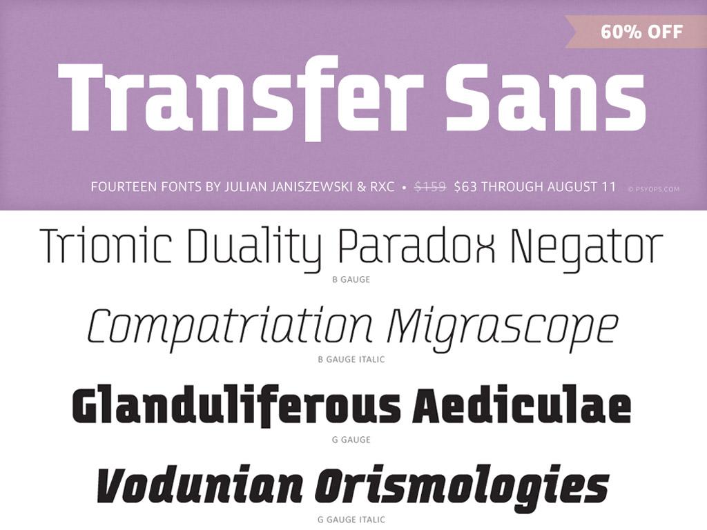Transfer Sans Sale