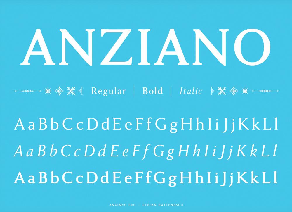 Anzianzo Font PSYOPS