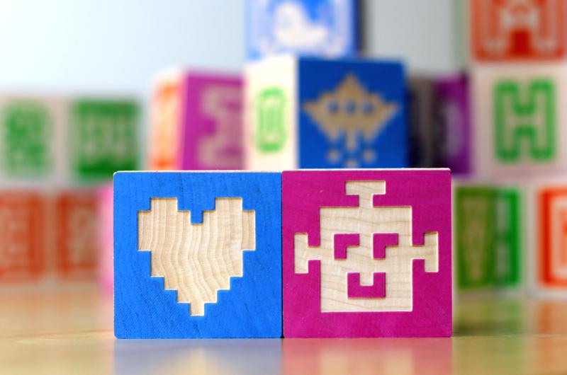 Bitblox I Heart Robots